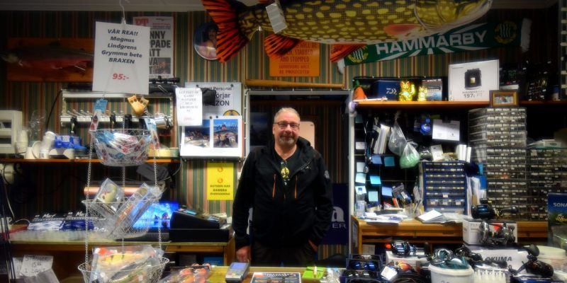Meet Johnny at the newly started Arjeplog Fishing Center which you can find at GK's Fishing store